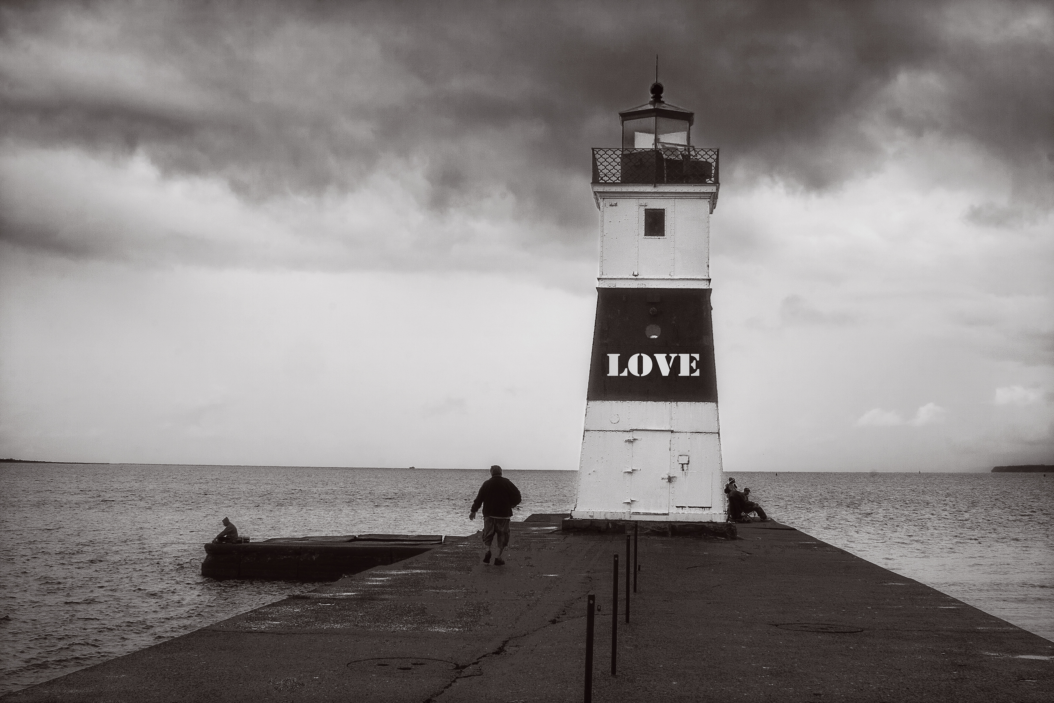 Love Is The Lighthouse In A Storm
