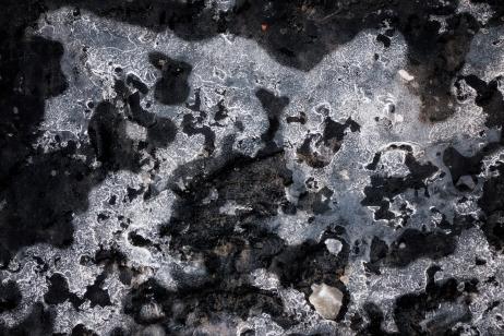 Salt Ice Asphalt