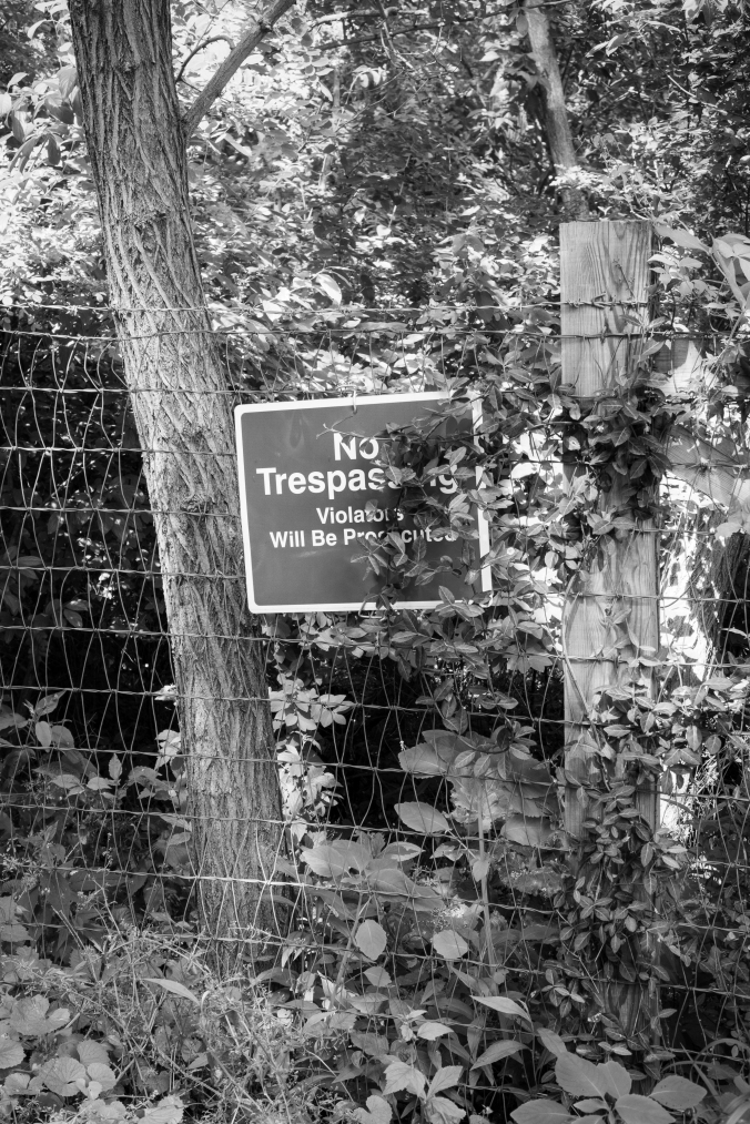 Nature Don't Care About Trespass