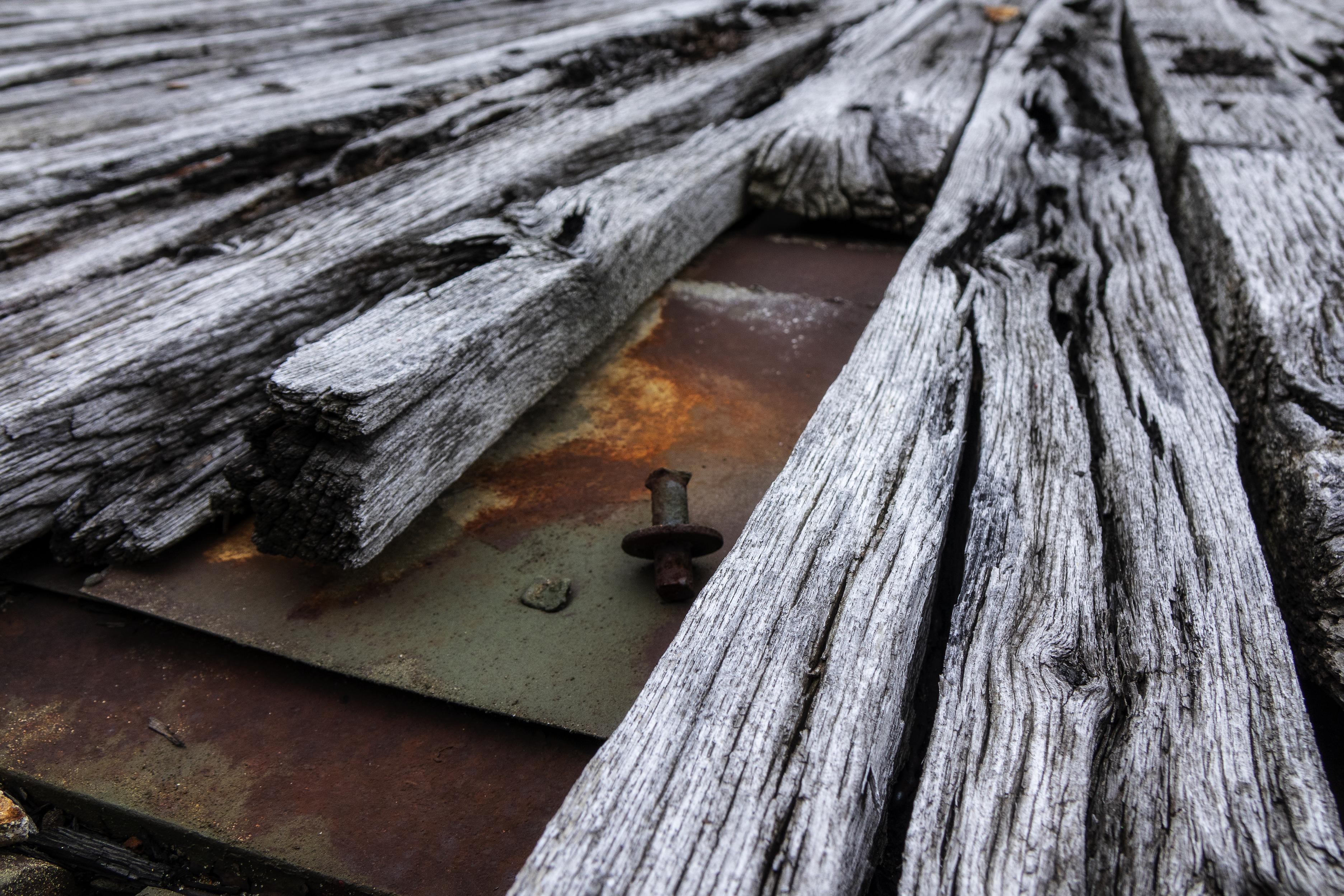 Old Wood & Steel