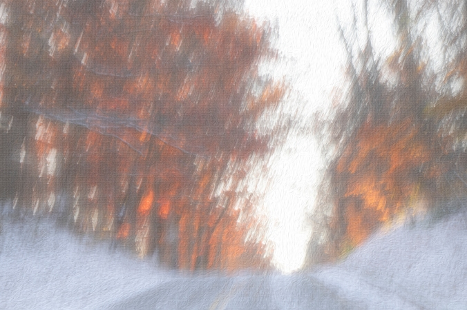 First Snow - Driving Up That Hill - rerendered