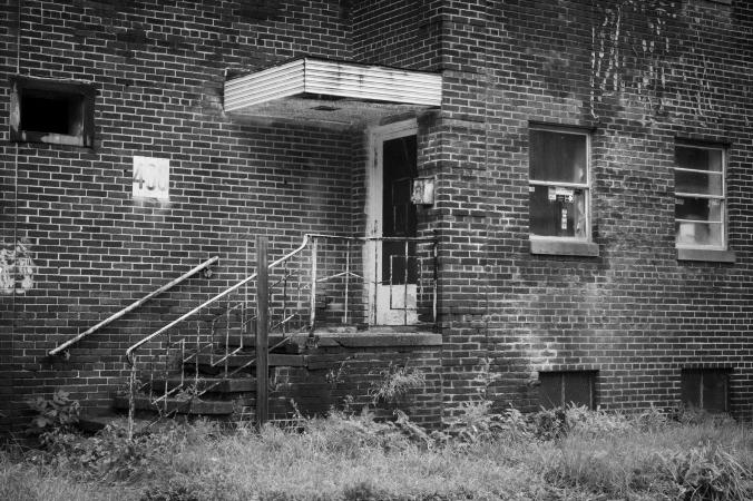 Urban Entrance Abandoned