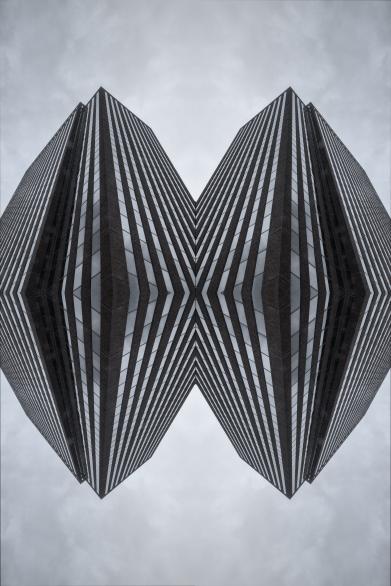 SKYSCRAPER OP-ART
